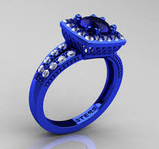 Blue Wedding Rings by Blue Sapphire Engagement Rings For Main Event Of The Life