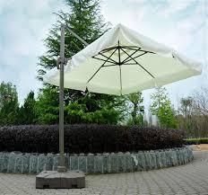 Tilting Patio Umbrella Outsunny 10 Tilting Patio Umbrella W Base