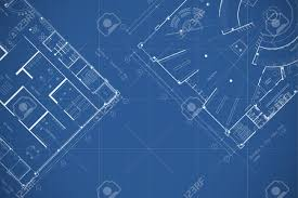 blueprint floor plan architecture blueprint floor plan stock photo picture and royalty