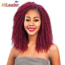 crochet braids with bohemian hair alileader freetress crochet braids kanekalon braiding hair 12 18