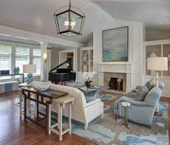 soothing color schemes living room transitional with contemporary