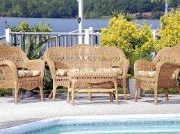 Cushions For Wicker Patio Furniture - cushion wicker sahara set resin wicker outdoor patio furniture
