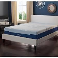 lane 12 in full latex gel foam mattress hd2101db the home depot