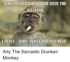 Drunken Memes - 25 best memes about drunken monkey drunken monkey memes
