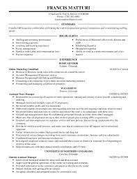 What A Job Resume Should Look Like by What Resume Should Look Like 2015 Francis Matturi U0027s Resume 2015