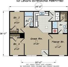 2 Bedroom 2 Bath Modular Homes The Oakwood Split Bedroom Feature For Kids In Our Modular Home