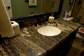 granite countertops for bathroom interior and exterior home design