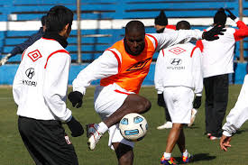 peru national team prepares for copa america 2011の写真および