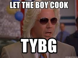 Ashley Schaeffer Meme - let the boy cook tybg ashley schaeffer s plums meme generator