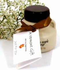 maple syrup wedding favors maple syrup jug vermont wedding favor
