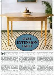 Woodworking Plans Oval Coffee Table by 38 Best Drop Leaf Table Plans Images On Pinterest Table Plans