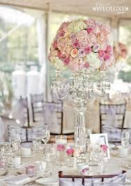 wedding candelabra centerpieces luxury pink and lavender wedding flower candelabra centerpiece