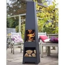 Steel Chiminea New Contemporary Patio Chiminea Yard Steel Fire Pit Wood Heater
