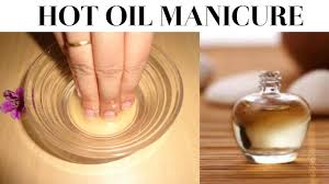 nail manicure oil manicure at home get beautiful strong