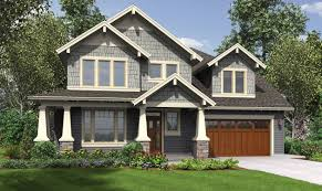craftsman style bungalow house plans exterior a bit monochromatic and not the best greys but like