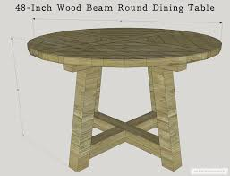 Round Dining Table With Hidden Chairs The House Of Wood The Diy Life Of A Military Wife