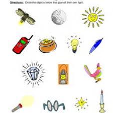 all worksheets light and sound worksheets printable worksheets