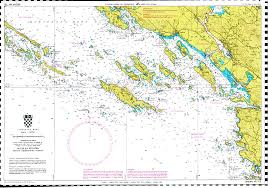 Adriatic Sea Map Big Game Fishing Croatia Fishing Area