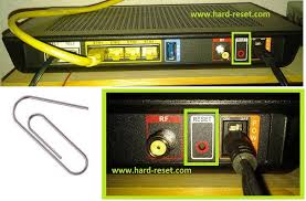 Modem Ds Light Blinking Ubee Evw3226 Wlan Cable Modem Factory Reset