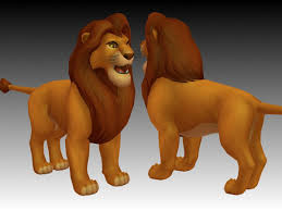 lion king simba 3d model 3ds files free download modeling 18978