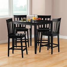 counter height dining room table mainstays 5 piece counter height dining set multiple colors
