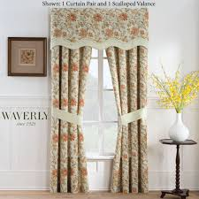 Lined Swag Curtains Curtains Lovely Waverly Window Valances Curtain For Enchanting