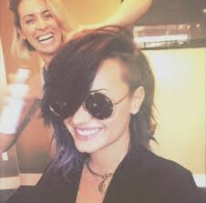 cap haircuts demi lovato s new haircut is fierce in all caps haircuts cap