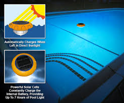 battery operated floating pool lights pool spa usa star shine the amazing floating solar powered light