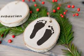 newborn footprint ornaments hey let s make stuff