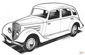 peugeot 201m coloring page free printable coloring pages