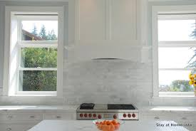 carrara marble subway tile kitchen backsplash gray marble kitchen subway tile backsplash design ideas