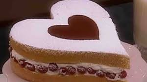 martini shaped cake video baking a heart shaped genoise cake martha stewart
