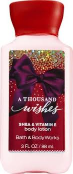a thousand wishes bath works a thousand wishes travel size lotion