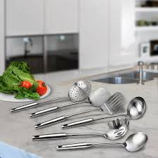 Kitchens Plus Team Valley Amazon Com Stainless Steel Kitchen Tool Set 6 Pieces By Pro Chef