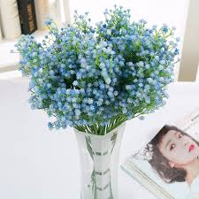 aliexpress com buy 9pcs baby breath artificial flowers plant