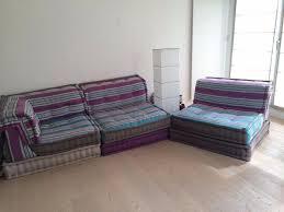 mah jong sofa set by roche bobois 2 armless chairs 1 corner seat