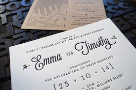 wedding invitations sydney sydney vendor d d letterpress one day wedding fair