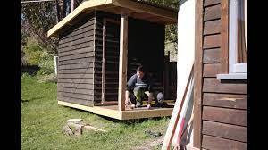 hand built sauna youtube