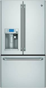 lowes black friday refrigerator deals shop ge cafe with keurig k cup brewing system 27 8 cu ft french