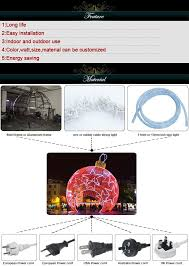 Christmas Lighted Balls Outdoor by Lighted Ball Outdoor Christmas Decoration Giant Lighting White Led