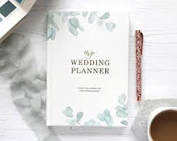 wedding planner organizer book wedding planner etsy