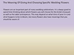 wedding flowers meaning the meaning of giving and choosing specific wedding flowers 1 638 jpg cb 1390888366