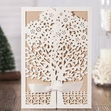 aliexpress com buy wedding invitations cards 2017 love tree