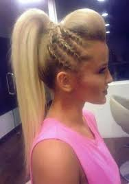 hairstyles to add more height forget the standard ponytail add height and braids hair beauty