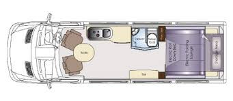Small Rv Floor Plans Small Camper Bus Conversion Layouts Google Search Campa Bus