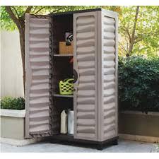 Horizontal Storage Cabinet Outdoor Storage Cabinet Large Plastic Shed 6 Feet X 5 Feet Garden