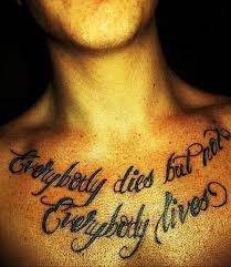 41 quotes tattoos on chest