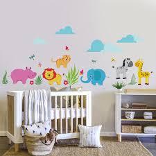 stickers déco chambre bébé amazing decoration chambre bebe theme jungle 3 d233coration en
