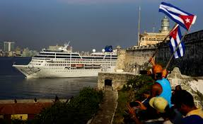 havana cuba first us cruise in decades arrives in havana
