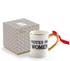 mug ornament votes for women coffee mug ornament rosanna feminist ornament